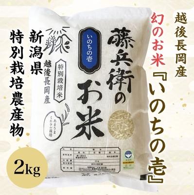 幻のお米 いのちの壱 2kg
