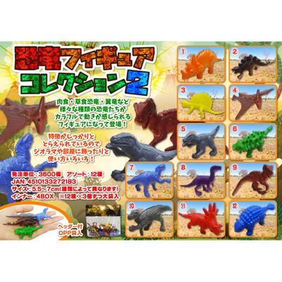 恐竜フィギュアコレクション2  36入り