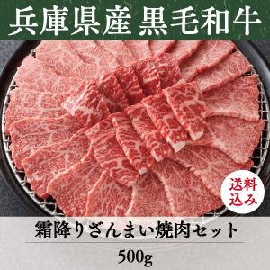 《兵庫県産》竹園特選黒毛和牛 霜降りざんまい焼肉セット 送料込
