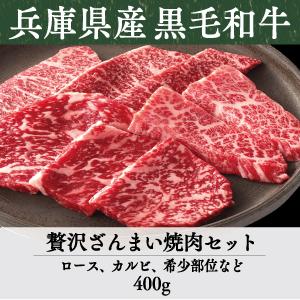 《兵庫県産》竹園特選黒毛和牛 贅沢ざんまい焼肉セット