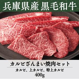 《兵庫県産》竹園特選黒毛和牛 カルビざんまい焼肉セット
