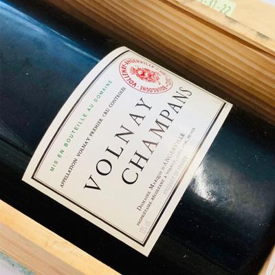1998年 ヴォルネー・シャンパン / ドメーヌ・マルキ・ダンジェルヴィル(※マチュザレムボトル・容量6000ml・専用木箱入)