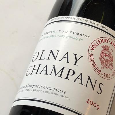 2009年 ヴォルネー・シャンパン / ドメーヌ・マルキ・ダンジェルヴィル