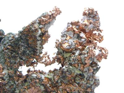 自然銅と自然銀・Native Copper&Native Silver