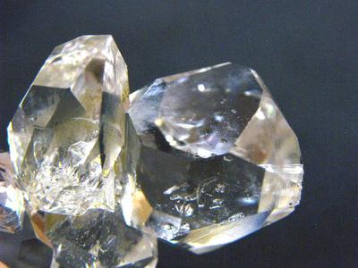 水晶・Rock Crystal (ハーキマーダイヤ)