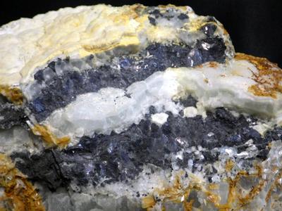 JKM21 蛍石と方鉛鉱・Fluorite&Galena 宮城県細倉鉱山