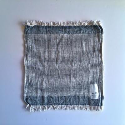 糸からこだわった一枚・オーガニックコットンタオル | Heather(ヘザー)グレー(天衣無縫)