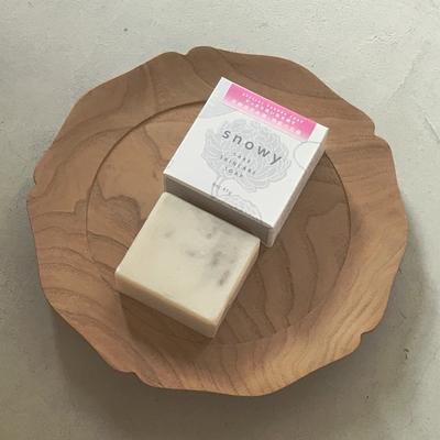 混合肌から乾燥肌まで|花酵母日本酒・季節の石鹸 スペシャル桜ソープ85g