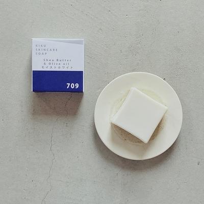 優しく潤す全身用石鹸 | 季節の石鹸709 シアとオリーブの石鹸(85g)  (lot.2009)