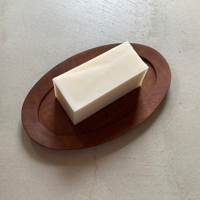 キッズからお年寄りへオススメの優しい泡 | 無香料石鹸(ブロック約400g) (lot.2009)