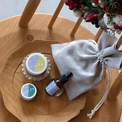《完売しました》ホリデーギフト2020セット- 香りを楽しむ潤いアイテム -(癒しと保湿のハンドケアセット)
