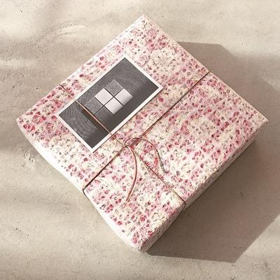 化粧箱 | フローラルレッド ( 箱+ラッピング+糸かけ )