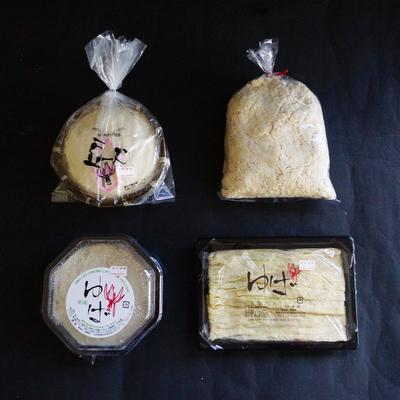 西和賀産大豆をつかった 源助豆腐&湯葉セット