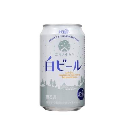 【単品】ユキノチカラ 白ビール缶