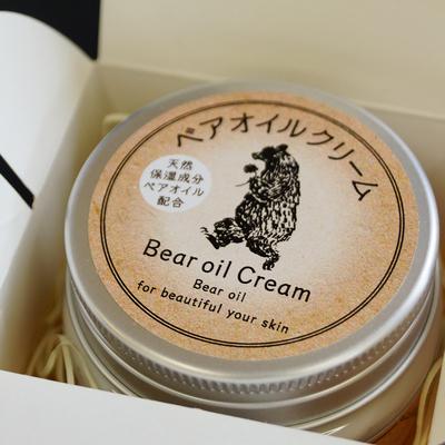 【ギフト】熊油配合 ベアオイルクリーム(1個入)