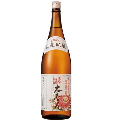 国産純醸本みりん 1.8L瓶