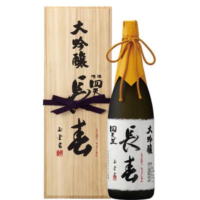 四天王 大吟醸 特別長春 1.8L瓶