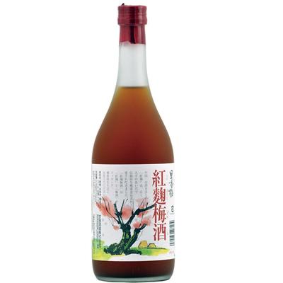 里香梅 紅麹梅酒 720ml 瓶