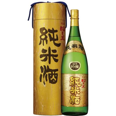 四天王 純米吟醸酒 金筒入 1.8L瓶