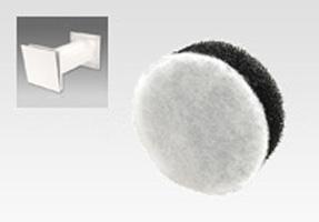 給気口/厚38mm円形花粉フィルター