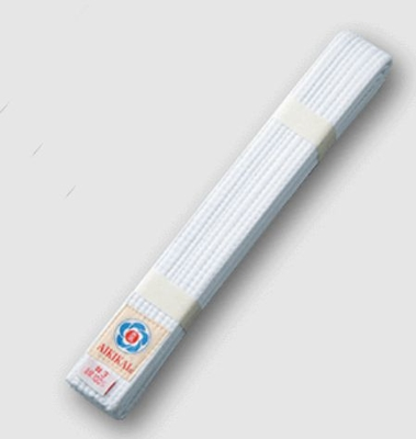 合気会公認マーク付 合気道白帯