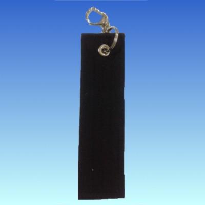 オリジナル黒帯キーホルダー 9文字以上刺繍入り