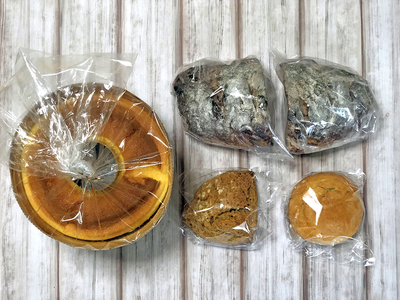 生シフォンケーキと酵母パンお楽しみセット