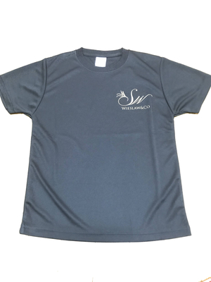 Wieslaw&Co ロゴTシャツ(ブラック)