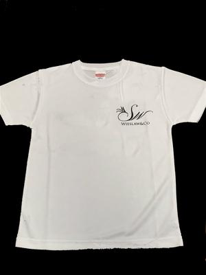 Wieslaw&Co ロゴTシャツ(ホワイト)