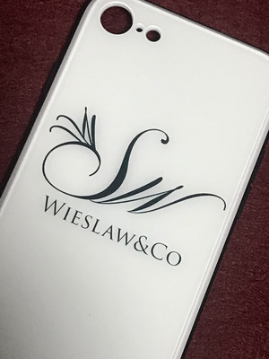 Wieslaw&Co 強化ガラス製ケース(ホワイト)