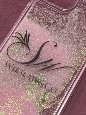 Wieslaw&Co グリッターケース(Sand Pink)