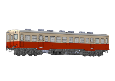 【特典付】小湊鐵道キハ200形[前期型](ボディ着色済みキット)【6月発売予定】