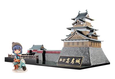 高島城×ゆるキャン△〜お城とキャンプとソロキャンガール〜
