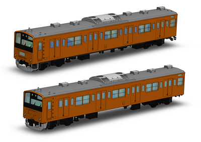 JR東日本201系直流電車(中央線快速)クハ201・クハ200キット