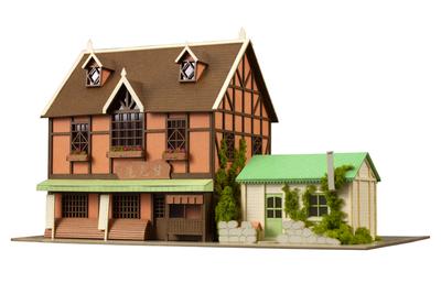 アニテクチャー: 1/150甘兎庵&シャロの家