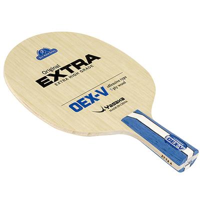 ヤサカ 中国式ペンラケット(50%OFF)基本技術の習得に最適なコントロール系ラバー『オリジナルエクストラ』と相性抜群のラケット。適度な弾みを持ちながら扱い易く、これから卓球を始める初級者にオススメな