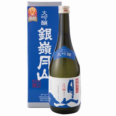 [月山酒造株式会社] 銀嶺月山 大吟醸 青ラベル