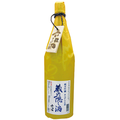 [六歌仙] 蔵の隠し酒 純米吟醸 あらばしり生 1.8L