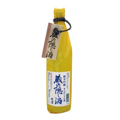 [六歌仙] 蔵の隠し酒 純米吟醸 あらばしり生 720ml