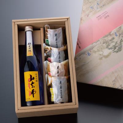 日本酒と漬物ギフト