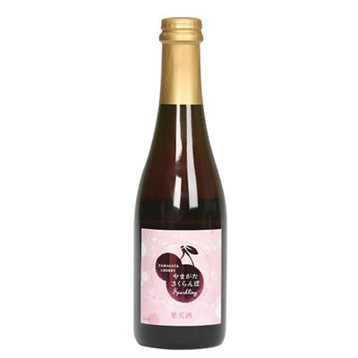月山山麓トラヤワイン やまがたさくらんぼ Sparkling