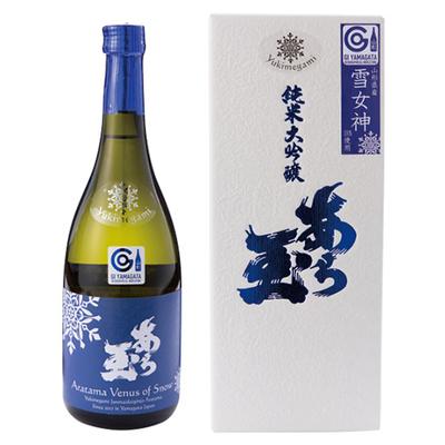 [和田酒造] 雪女神 純米大吟醸 あら玉