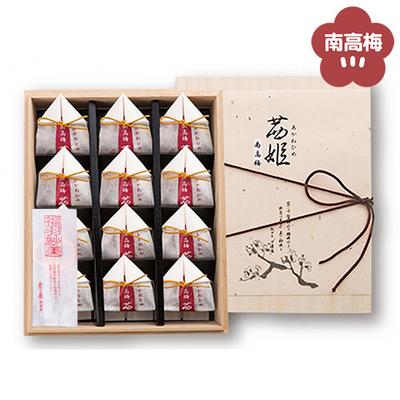 南高梅茜姫大粒詰合せ [24粒桐箱入(12粒×2段)]