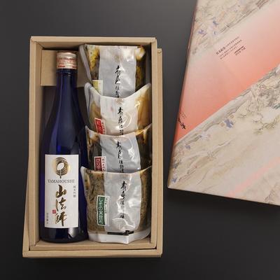 日本酒と漬物ギフト30