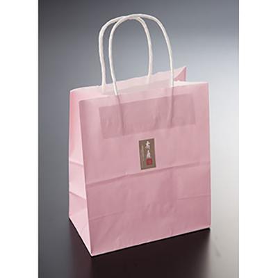 手提げ袋ピンク(紙袋)大