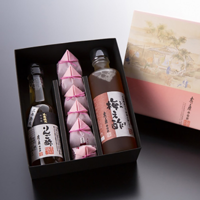 りんご酢と梅え酢ギフト【姫】※2020年5月14日以降の発送となります