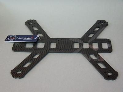 """QAV250 Main """"Unibody"""" CF Frame Plate v1.1"""