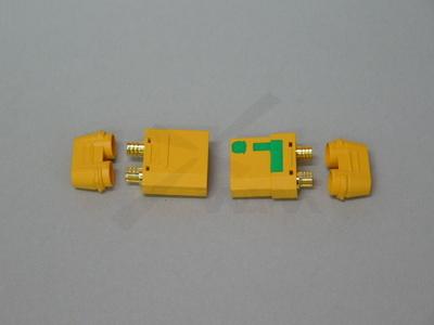 アンチスパークXT90 F/Mコネクタセット(絶縁カバー付き)