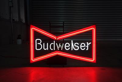 Budweiser ネオンサイン