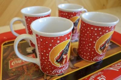 Coca-Cola ギブソンマグカップ 4個セット